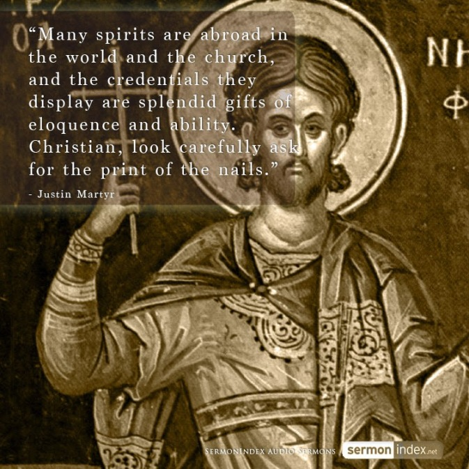 Image result for Justin Martyr quotes