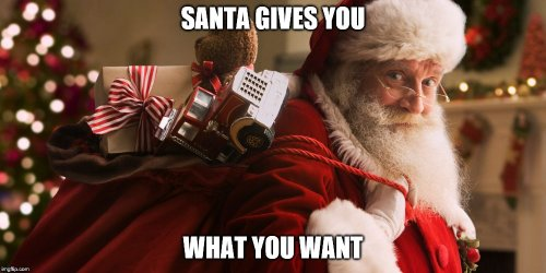 Santa Meme