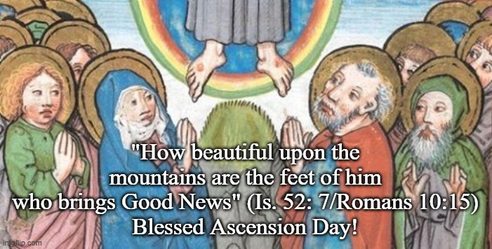 Image result for The Ascension of the Lord