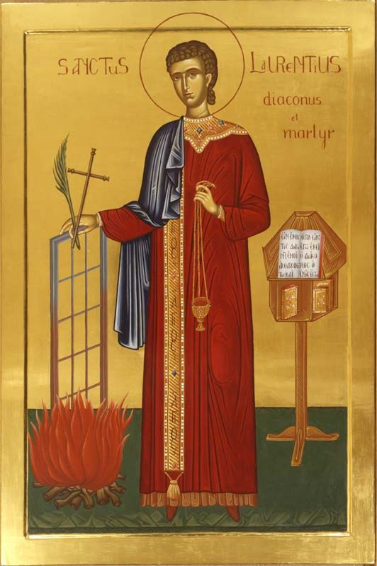 Saint Lawrence of Rome as a Model Deacon (St. Ambrose of Milan ...